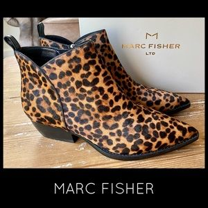 NEW ~ MARC FISHER Yale pointy toe Chelsea Boot